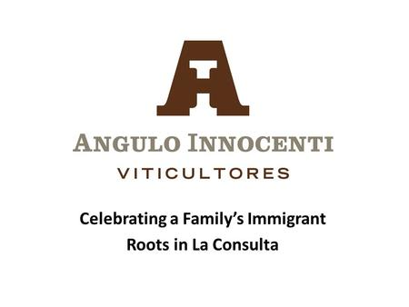 Celebrating a Family's Immigrant Roots in La Consulta.