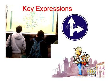 Key Expressions. Go straight Turn right Turn left.