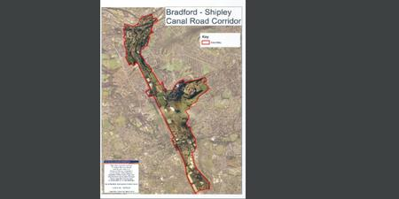 A Masterplan for the Regeneration of Bradford-Shipley Canal Road Corridor.