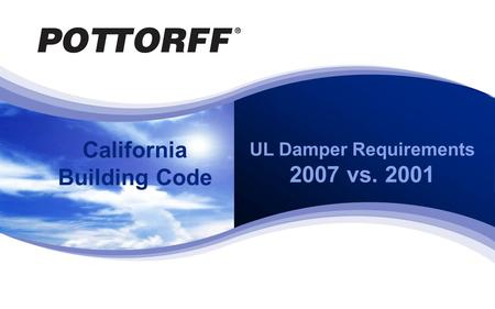 2007-CBC - UL Damper Requirements