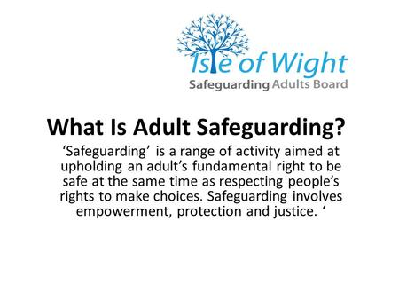 What Is Adult Safeguarding?