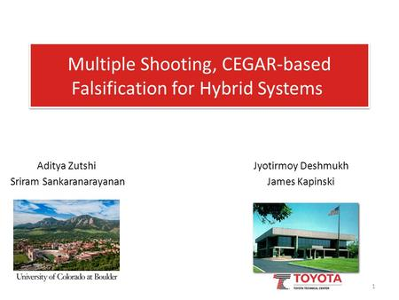 Multiple Shooting, CEGAR-based Falsification for Hybrid Systems