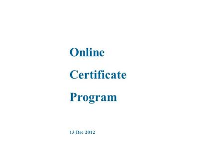 Online Certificate Program 13 Dec 2012. This is the Home Page of Learntelecom.bsnl.co.in.