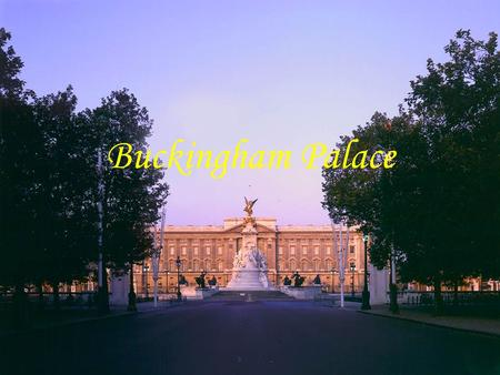 Buckingham Palace. History of Buckingham Palace Buckingham Palace in 1808.