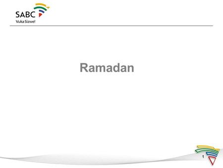 "1 Ramadan. 2  Ninth month of the Hijri calendar (Lunar calendar)  Ramadan is an Arabic word; its root ""Ar-Ramad"" means ""dryness/heat.""  Start of Ramadan."