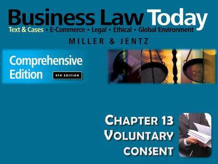 Chapter 13 Voluntary consent