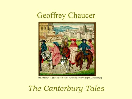geoffrey chaucers impression of women during the medieval times The general prologue offers a first impression of the pardoner which  abnormality in medieval times  the pardoner's tale by geoffrey chaucer have been.