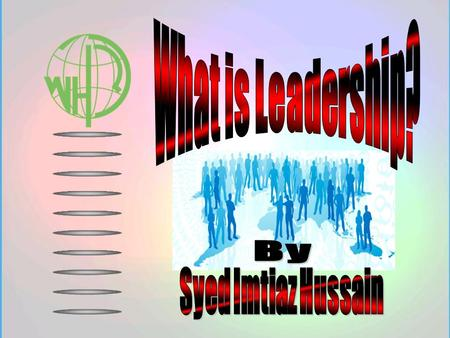 Leadership is not Authoritative Expertise! Leadership is not Strategy.