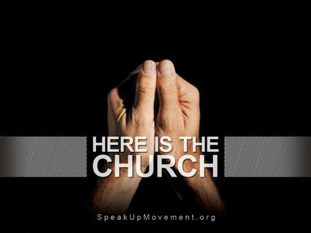 "Who will speak if the Church is silenced? ""And how are they to believe in Him of whom they have never heard? And how are they to hear without someone."