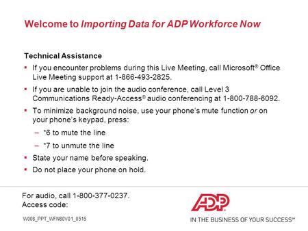 Time Amp Attendance Supervisor Basics For Adp Workforce Now