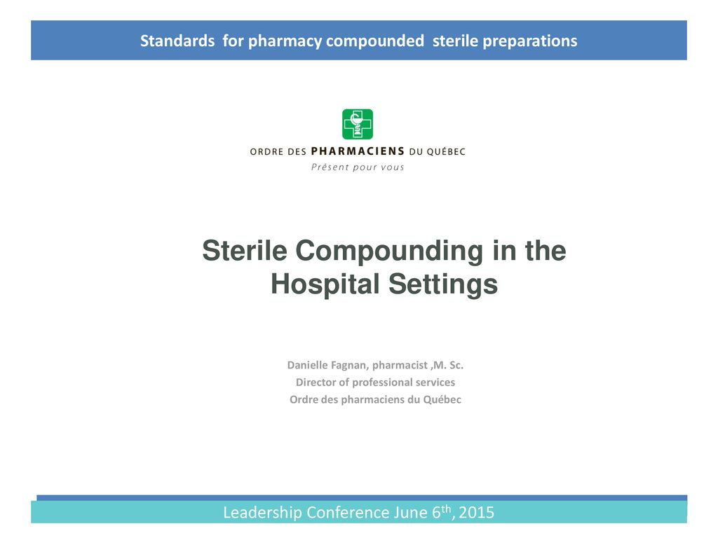 General chapter 797 a guide to sterile compounding for pharmacy personnel answers