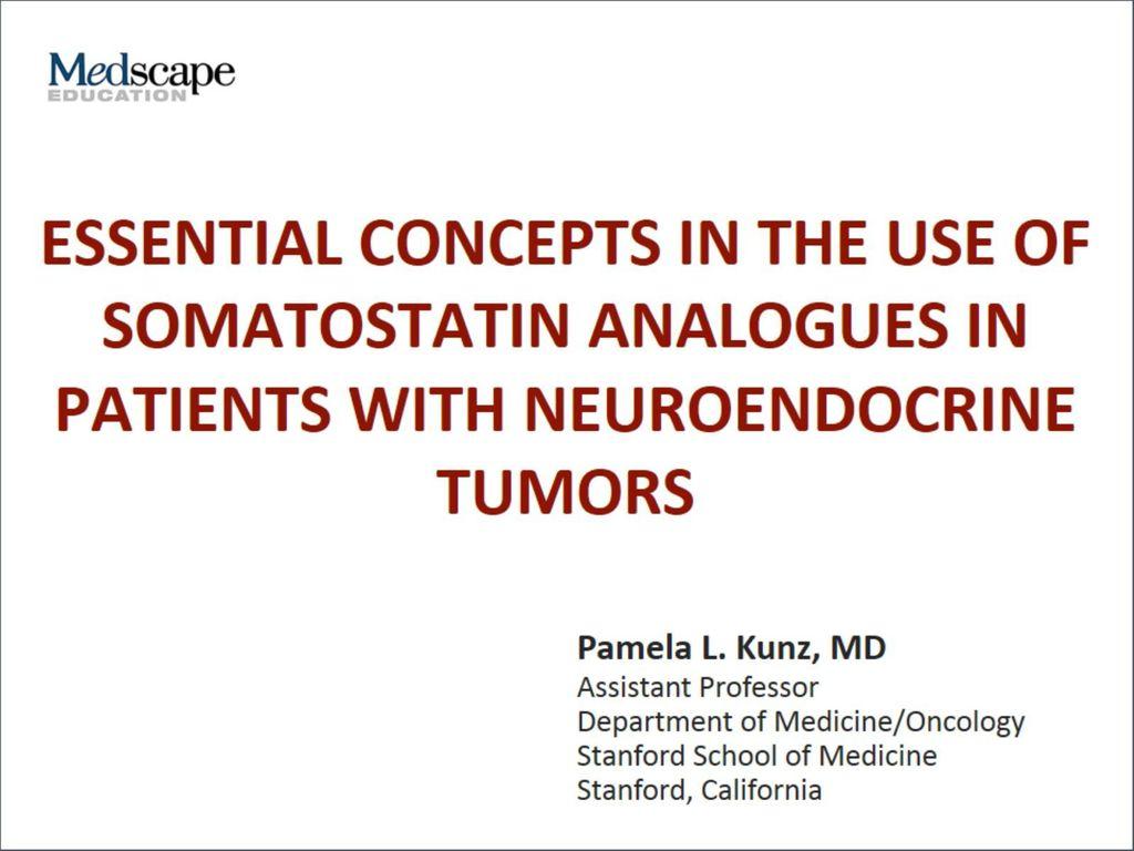 Neuroendocrine cancer medscape - Pancreatic cancer
