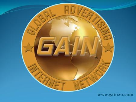 Www.gain2u.com. Imagine Earning weekly residual income for just introducing people to online shopping. Exchanging products and services in an exclusive.