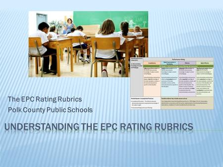 Understanding the EPC Rating rubrics