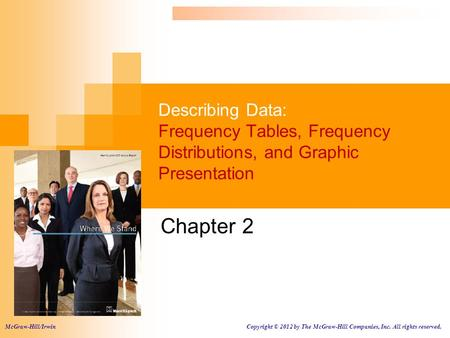 Chapter 2 McGraw-Hill/Irwin
