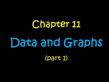Chapter 11 Data and Graphs (part 1). Day….. 1.Misleading GraphsMisleading Graphs 2.Frequency Tables and Tally ChartsFrequency Tables and Tally Charts.