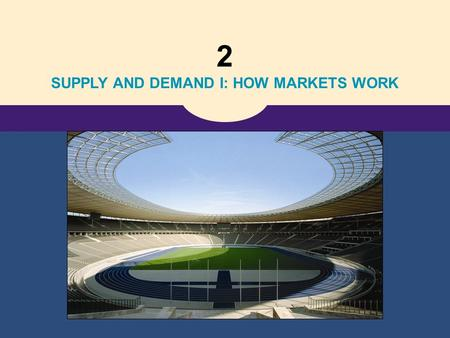 2 SUPPLY AND DEMAND I: HOW MARKETS WORK. Copyright © 2006 Thomson Learning 4 The Market Forces of Supply and Demand.