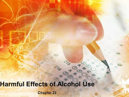 Harmful Effects of Alcohol Use
