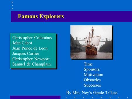 Explorers  - ppt video online download