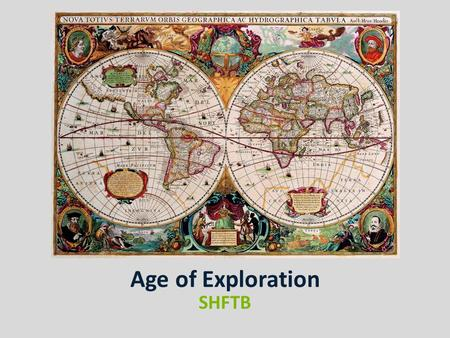 Age of Exploration SHFTB. QUESTION This system of farming was used in the New World to produce raw materials that could be exported to Europe. Plantation.