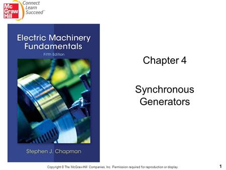 Chapter 4 Synchronous Generators