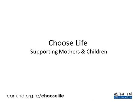 "Choose Life Supporting Mothers & Children. In Deuteronomy, God makes promises to Israel and challenges them to choose. ""This Day I call the heavens and."