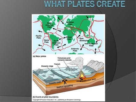 Trench When two plates of oceanic crust collide, one plate sinks beneath the other. One of the plates is pushed beneath the deep-sea trench down toward.
