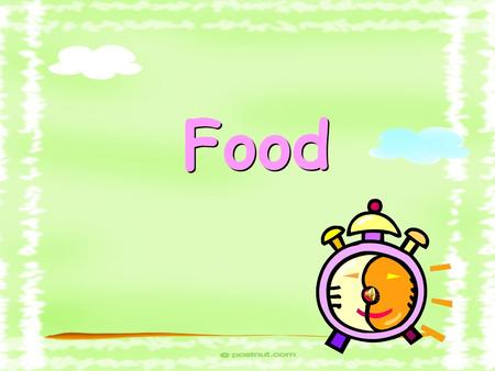 Food What's your favourite food? _ish f f egg plant 茄子.
