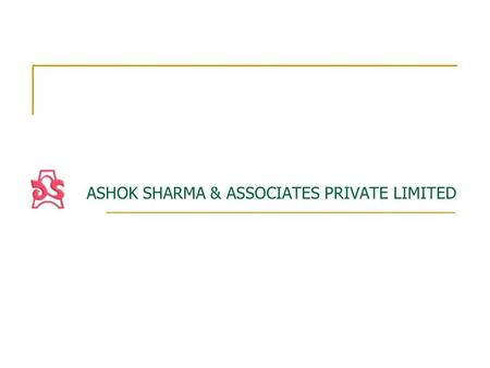 ASHOK SHARMA & ASSOCIATES PRIVATE LIMITED