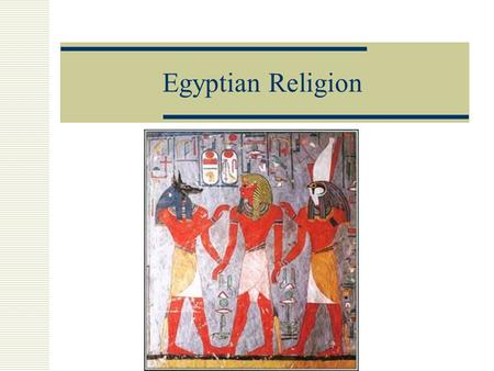 Egyptian Religion. Polytheism  Egyptians were polytheists (believed in many gods, up to 2000 Gods)  Egyptians worked hard to make their Gods happy 