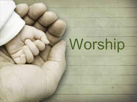 "Worship. Exodus 20:3-5a 3 ""You shall have no other gods before me. 4 ""You shall not make for yourself an image in the form of anything in heaven above."