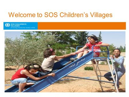 Welcome to SOS Children's Villages. Syria SOS Children have worked in Syria since 1981 There are 2 SOS Children's Villages: Qodsaya Near Damascus Cares.