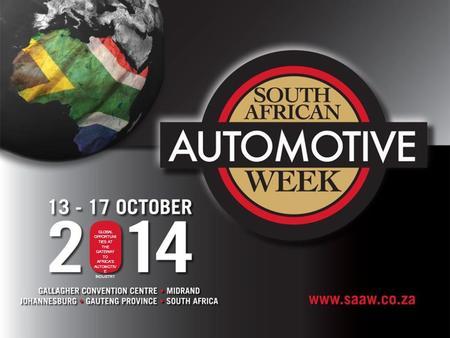 GLOBAL OPPORTUNI TIES AT THE GATEWAY TO AFRICA'S AUTOMOTIV E INDUSTRY.
