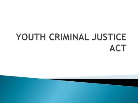 " Why would the Canadian Justice system have a separate system just for youth?  What age should ""youth"" be considered?  Is a separate system beneficial?"