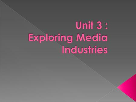  Section A : TWO questions about each of the FIVE areas of exploration (2 + 4 marks):  Media Audiences & Products  Ownership, Control & Finance  Working.