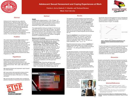 Nicholas Strong Illinois State University Abstract Adolescent work experiences may undermine development (e.g., Mortimer & Staff, 2004) and influence adolescents'