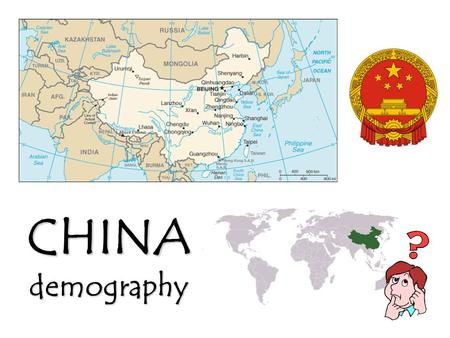 CHINAdemography. POPULATION DENSITY 中华人民共和国 Zh ō nghuá Rénmín Gònghéguó People's Republic of China POPULATION POLICIES.
