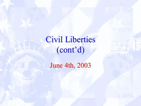 civil liberty vs security essay Which situation (civil rights or civil liberties) would have more influence on the quality of life in the states which part of the usa would register a deeper impact of judicial decision(s) reached in the cases identified (ie in relation to making the most of your life experiences) by submitting this paper.
