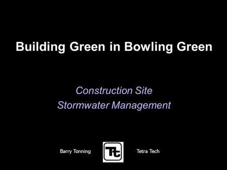 Building Green in Bowling Green