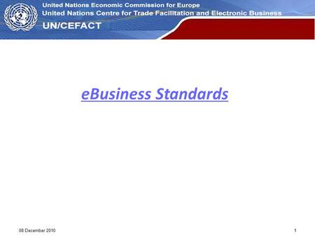 EBusiness Standards 08 December 2010 1 1.