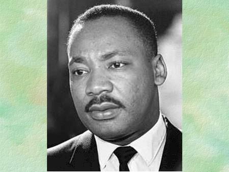 His Struggle On Dec. 21, 1956, King rode the first desegregated bus in Montgomery, Ala. His leadership of a black boycott drew national attention.