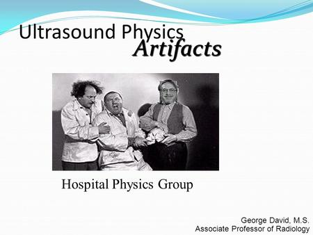 Hospital Physics Group