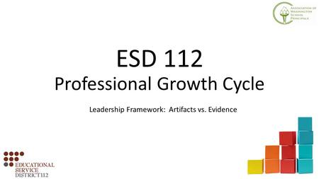 ESD 112 Professional Growth Cycle