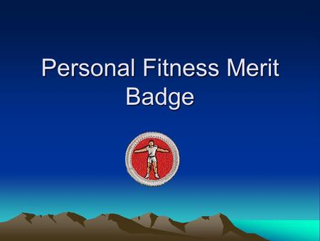 Personal Fitness Ppt Video Online Download