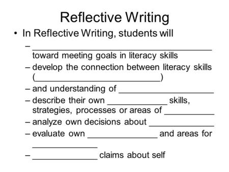 a reflection on writing a guide for a pwp project If you want to write the entire article in 3rd person, then you can use the technique of passive voice and third person active voice for example: it was observed that the person with the most knowledge of the topic assumed a very strong leadership role.