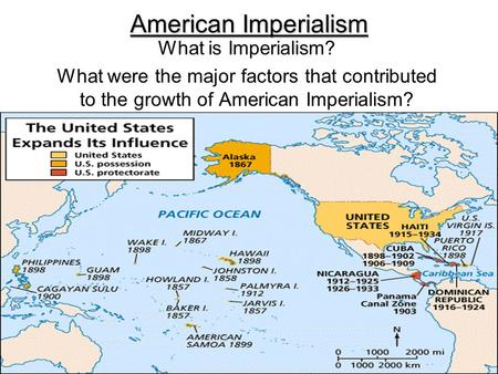 American Imperialism What is Imperialism?