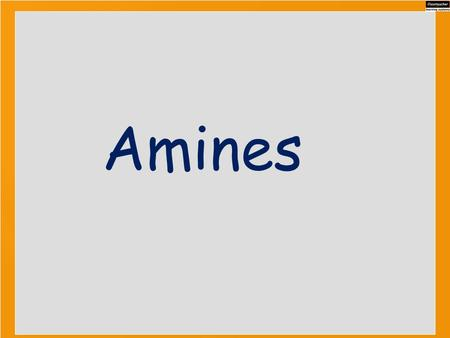 Amines.  Amines are formed by replacing one or more hydrogen atoms of ammonia (NH 3 ) with alkyl groups.  In nature, they occur among proteins, vitamins,