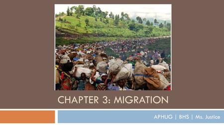 CHAPTER 3: MIGRATION APHUG | BHS | Ms. Justice. Key Question 3.4 How do governments affect migration?