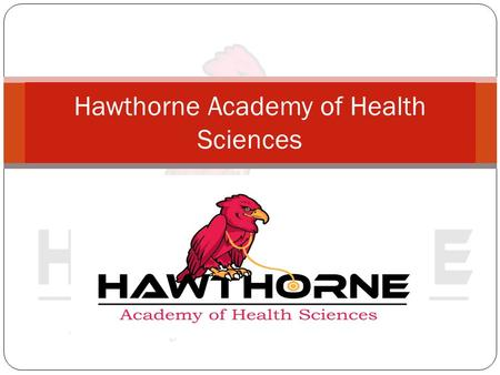 Hawthorne Academy of Health Sciences
