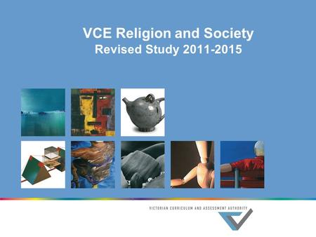 VCE Religion and Society Revised Study